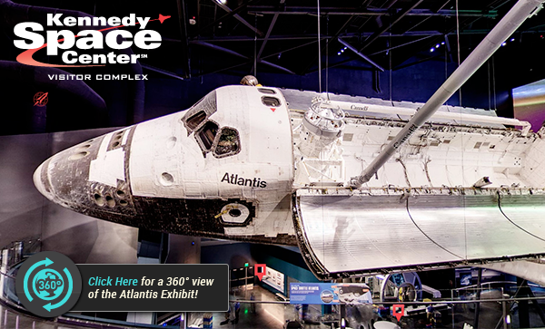 Blast Off with the Kennedy Space Center Astronaut Adventure