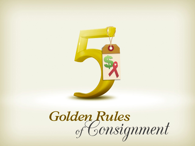 5 Golden Rules of Consignment Auction Items