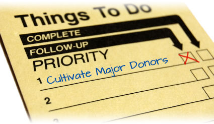 Things to do for donor development