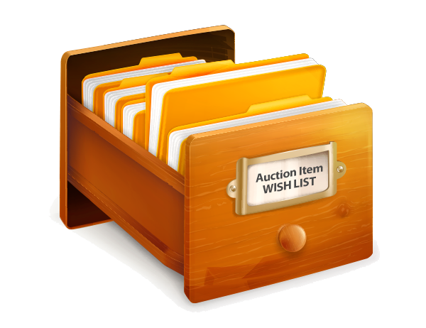 3 Steps for Organizing Your Auction Item Wish List
