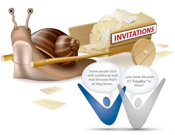 When to Send Traditional vs. Email Invitations for Your Charity Event
