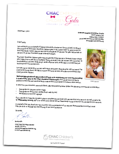 Auction Item Donor Letter Sample
