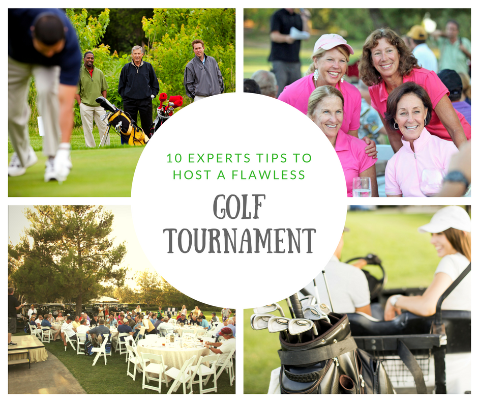 10 tips for hosting a charity golf tournament
