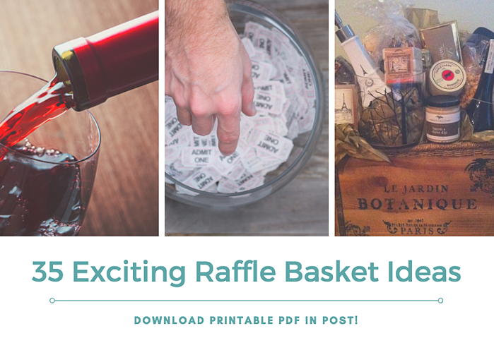 35 Unique Exciting Raffle Basket Ideas For Greater Fundraiser Revenue