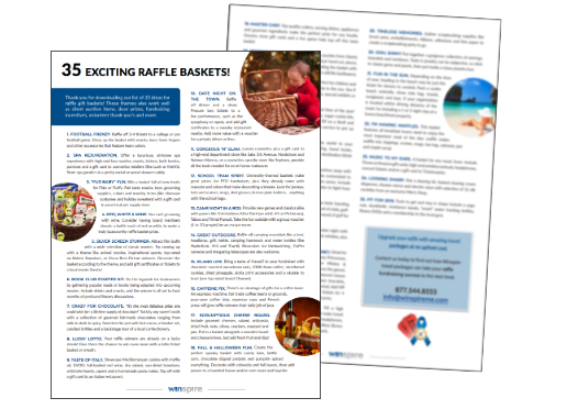 35 raffle basket ideas preview