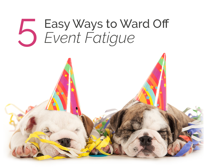 5 Easy Ways to Ward Off Fundraising Event Fatiguq