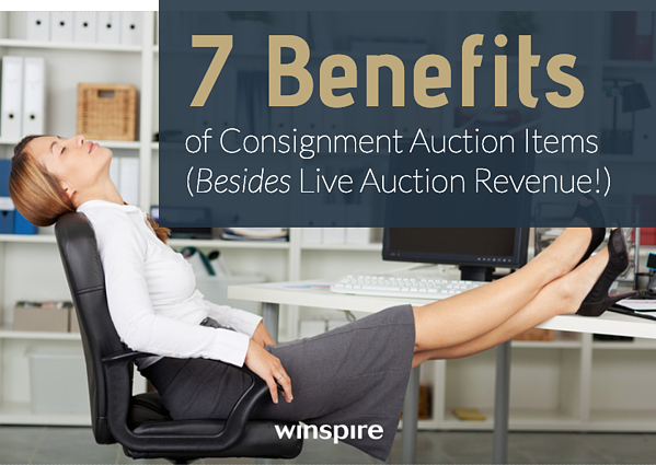 7 benefits consignment auction items Winspire