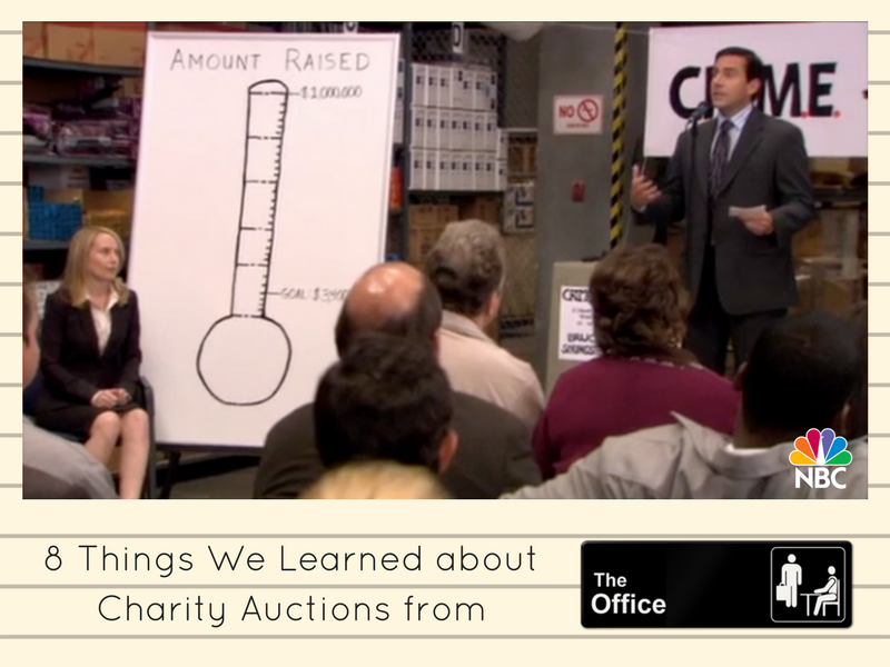 8 Things We Learned about Charity Auctions from The Office