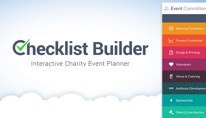Checklist Builder - Event planning checklist software