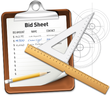 Silent Auction Bid Sheet Templates