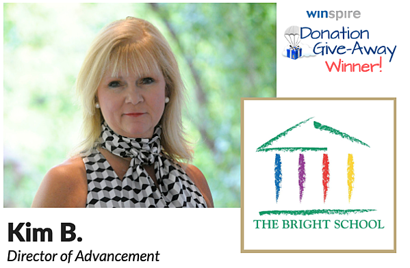 The Bright School: Donation Giveaway Winner Q1 2019