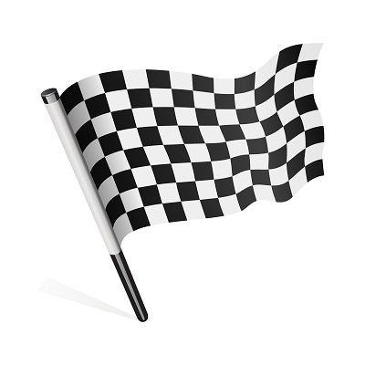 Checkered Flag - crowdfunding for charities