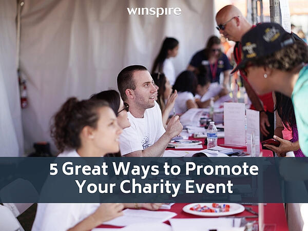 5 Great Ways to Promote Your Charity Event