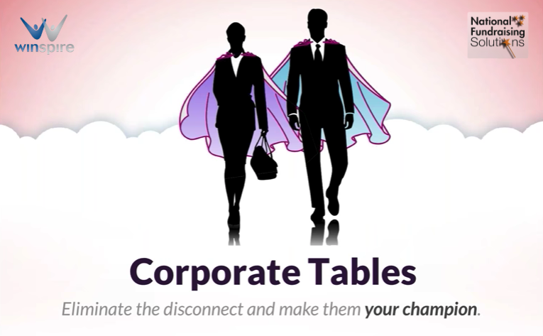 Corporate tables group 3