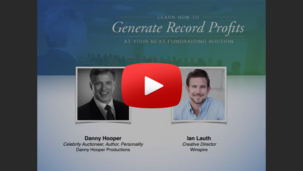 Generate Record Profits at Your Next Fundraising Auction - Webinar