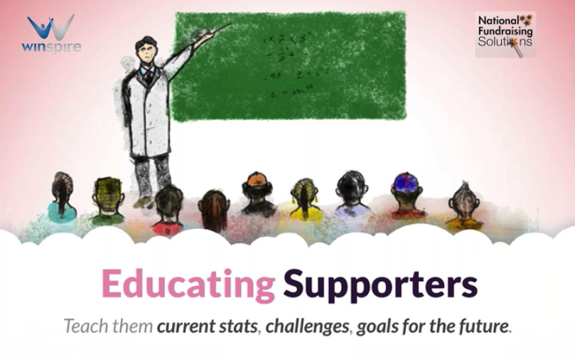 Educating supporters group 2