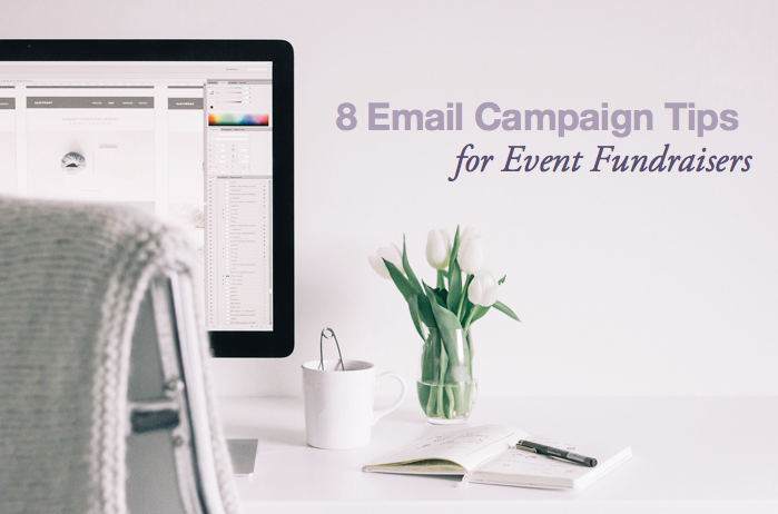 8 email campaign tips for nonprofit fundraising events