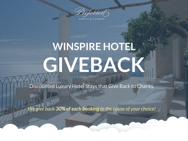 Winspire Hotel Giveback