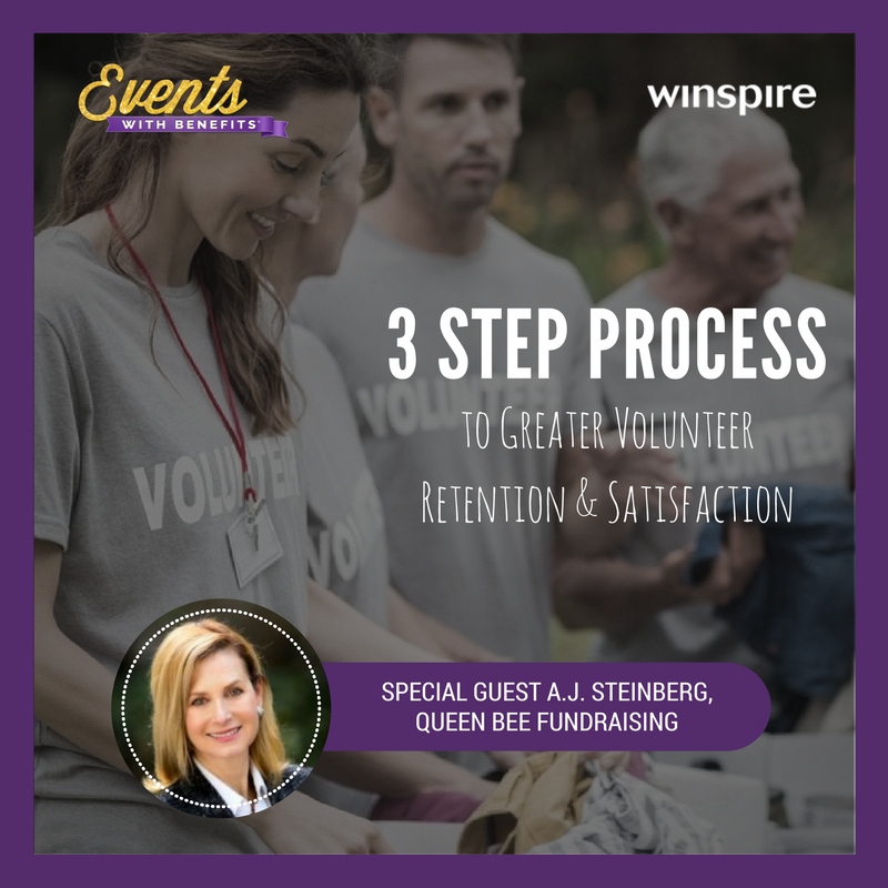 3 Step Process to Greater Volunteer Retention