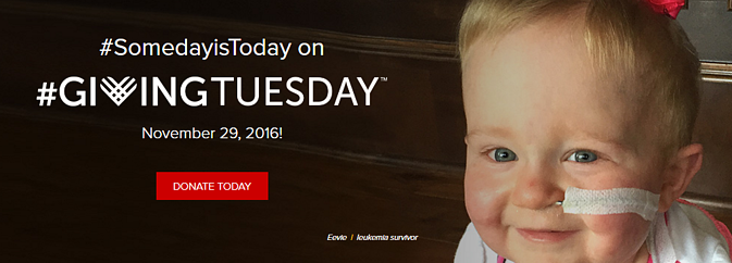 LLS Sample Branded Landing Page for #GivingTuesday