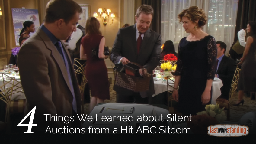 4 things we learned about silent auctions from a hit ABC sitcom