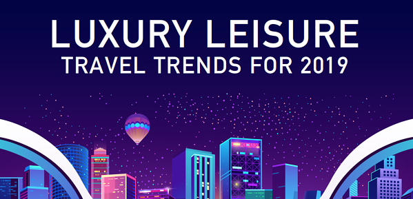 Trends in Luxury Travel 2019 Header