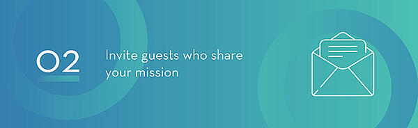 Invitation For Guests That Share The Same Mission