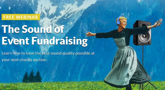 FREE WEBINAR: The Sound of Event Fundraising