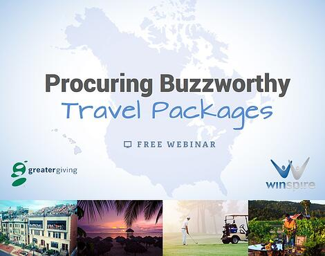 Procuring Buzzworthy Auction Travel Packages - Free Webinar