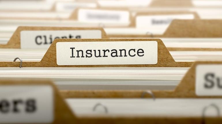 Insurance Concept. Word on Folder Register of Card Index. Selective Focus..jpeg