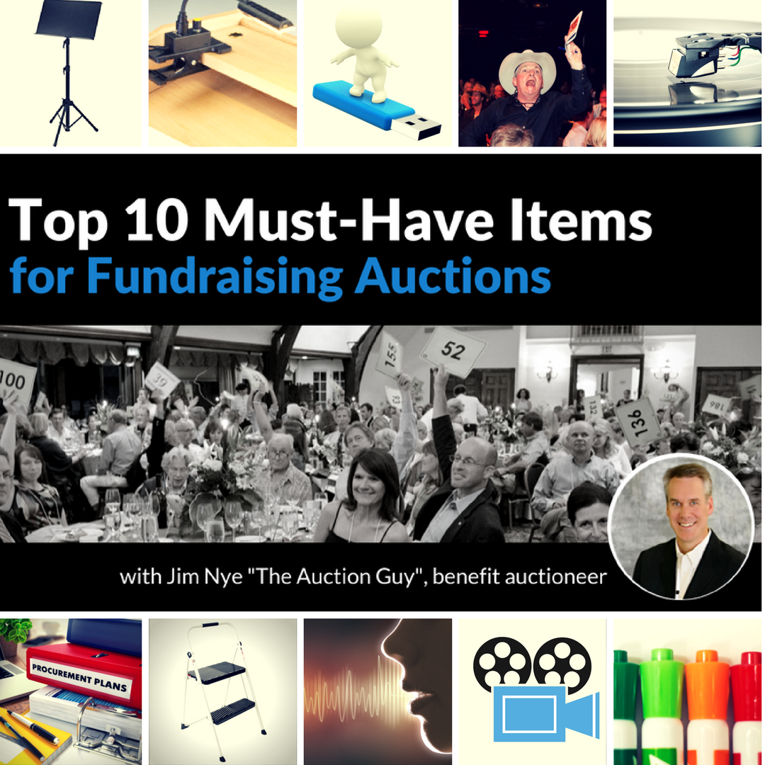Top 10 Items for Fundraising Auctions