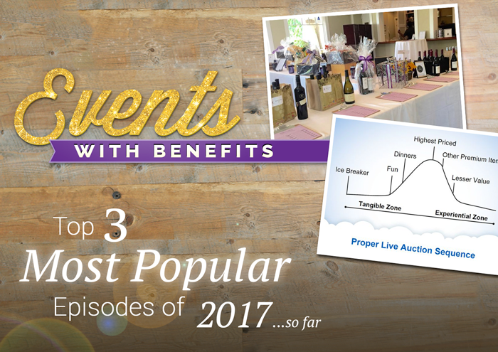 Events with Benefits - Top 3 Most Popular Episodes of 2017