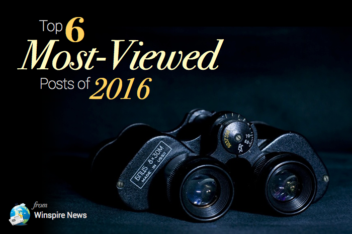 The 6 most-viewed posts of 2016 from Winspire News