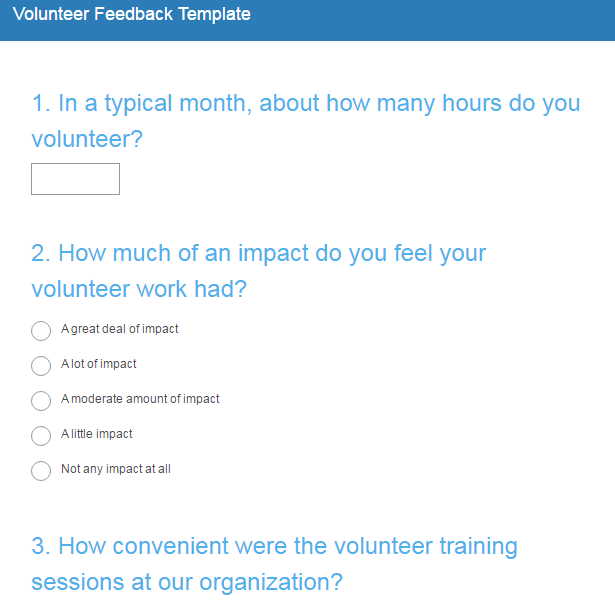 Get to know your donors the ultimate guide to nonprofit for Volunteer satisfaction survey template