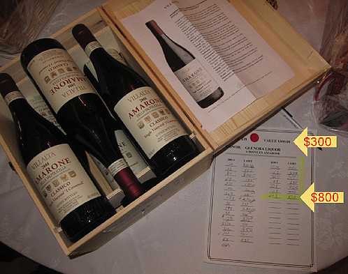 """Wine Trees"" - How to Use a Case of Wine as an Auction Item for Charity Fundraiser"