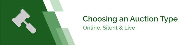 Online, Silent & Live Auctions
