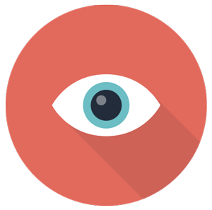 Google AdWords for nonprofits - eye icon