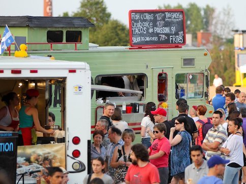 Food Trucks at Summer Fundraising Event