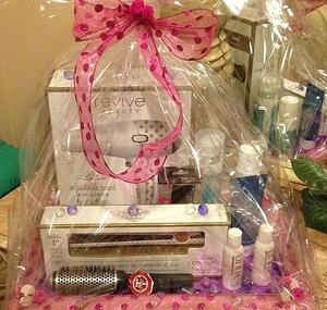 hair care silent auction gift baskets