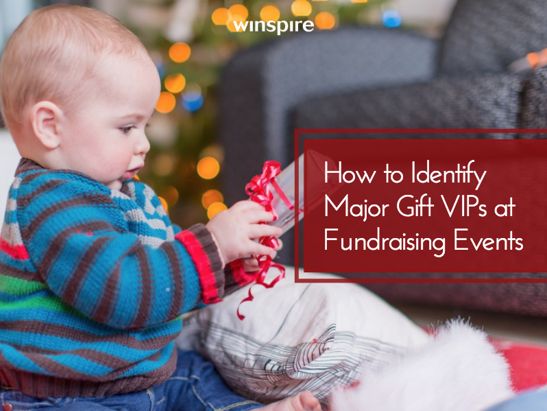 identify vip gift donors at events iwave main