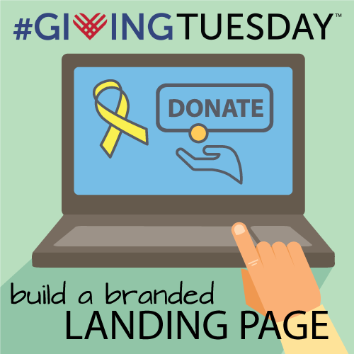 Build a Branded Landing Page for #GivingTuesday