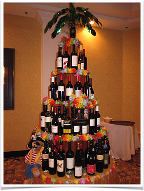 Wine Tree as Charity Auction Item