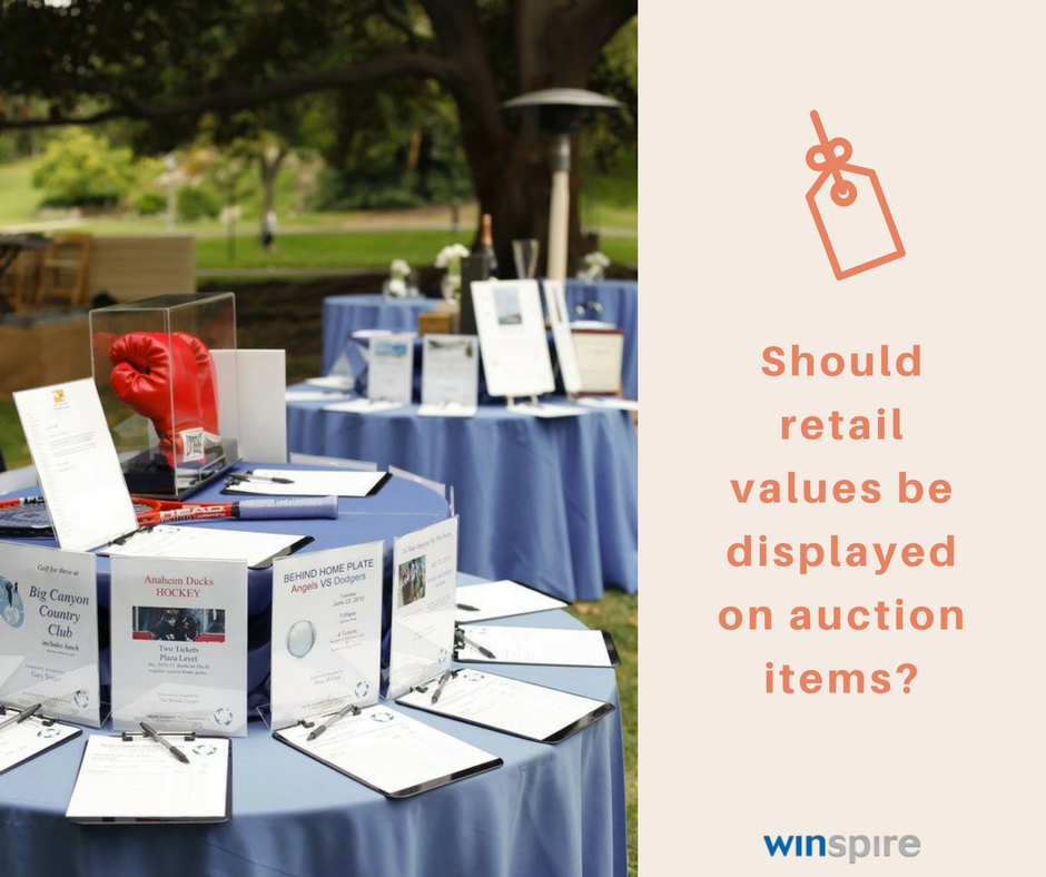 should you display retail values on charity fundraising auction items.png
