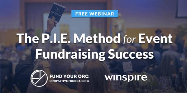 PIE Method for Event Fundraising Success Free Webinar