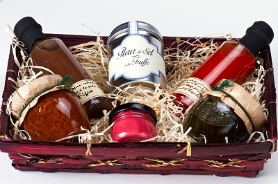 Gift Basket of Spices for Charity Fundraisers