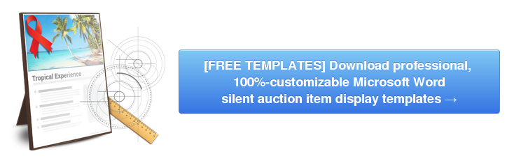 Download Silent Auction Display Templates logo