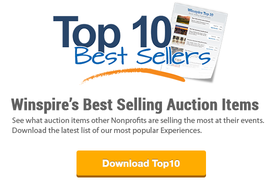 Winspire's Top 10 Best Selling Experiences