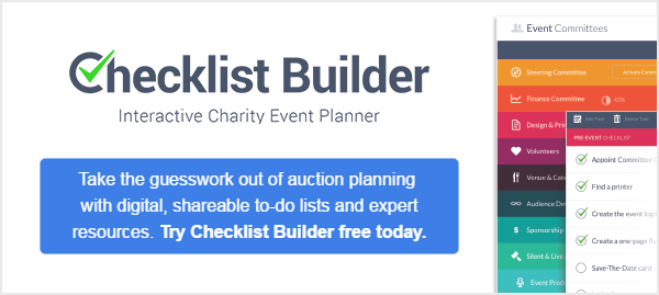 Sign up free for Checklist Builder today