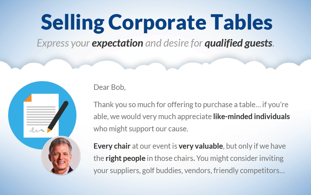 Danny Hooper sponsored tables